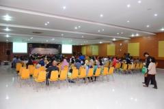 Para tamu wali mahasiswa FISIP yang hadir dalam acara temu wali mahasiswa FISIP