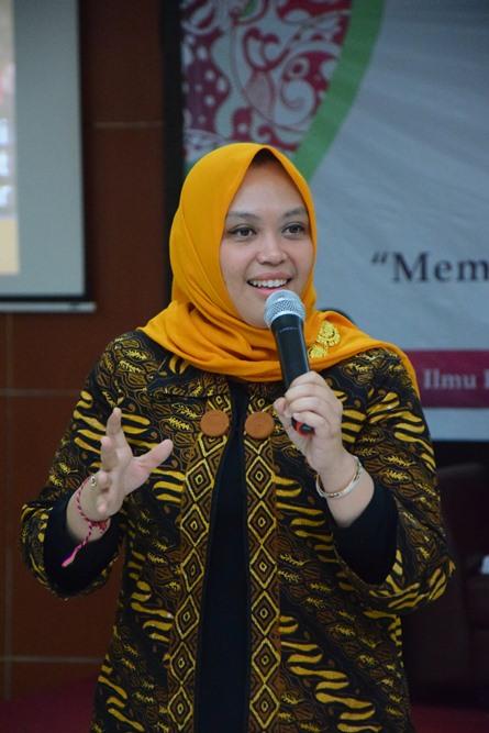 Sekretaris Prodi Sosiologi Adilita Pramanti, S.Sos., M.Si