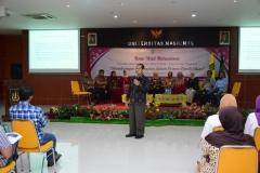 Dr. Aris Munandar, M.Si saat memberikan sambutan