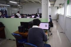 test online di blok 1 lantai 4