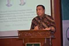 Dr. Ramlan Siregar, M.Si. (Ketua Yayasan Memajukan Ilmu dan Budaya, YMIK)