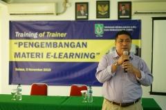 Sambutan oleh Prof. Iskandar, Wakil Rektor bidang Akademik