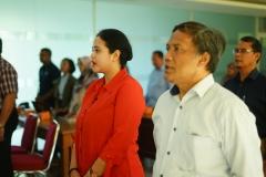 Dekan Ekonomi UNAS turut hadir bersama dosen unas