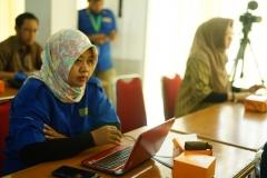 Manajer Marketing dan Public Relations turut mengikuti Training