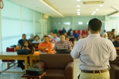 Sambutan Warek bidang akademik