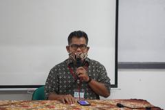 Pembacaan doa pada Pelaksaan Sertifikasi BNSP dan Uji Kompetensi Asesor Kewirausahaan di TUK Inkubator Wirausaha Mandiri UNAS yang diselenggarakan LSP Manisku Mandiri pada hari Senin-Jumat, 6-10 September 2021