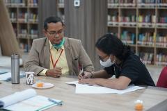 Pelaksaan Sertifikasi BNSP dan Uji Kompetensi Asesor Kewirausahaan di TUK Inkubator Wirausaha Mandiri UNAS yang diselenggarakan LSP Manisku Mandiri pada hari Senin-Jumat, 6-10 September 2021