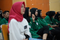 Para Mahasiswa Administrasi Publik yang hadir pada acara tutorial mahasiswa baru yang dilaksanakan oleh himpunan mahasiswa administrasi publik