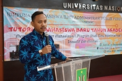 Sekretaris Prodi Ilmu Administrasi Publik Angga Sulaiman, S.I.P., M.Si.