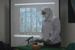 Pengucapan ucap janji kepaniteraan yang dipimpin oleh Kepala Prodi Pendidikan Profesi Ners, Ns. Naziyah, S.Kep., M.Kep.