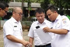 Koordinasi - Perwakilan Dinas Lingkungan Hidup DKI Jakarta dengan UNAS