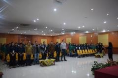 Saat menyanyikan lagu indonesia raya 3