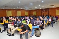 Saat berlangsung seminar unas expo (2)