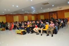 Saat berlangsung seminar unas expo