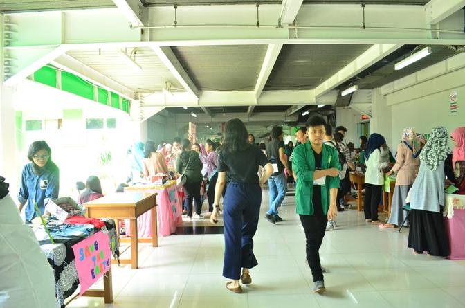 situasi selasar dalam perayaan unas entrepreneurship expo