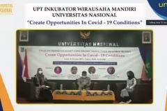 Para pembicara dalam kegiatan Expo Online