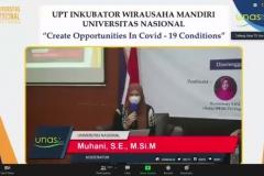 Pembukaan materi oleh moderator, Muhani, S.E., M.Si.M.