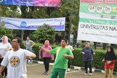 UNAS Gelar Senam Bersama Tingkatkan Kinerja dan Semangat Kerja 10
