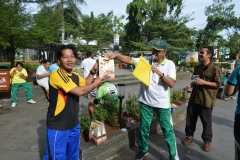UNAS Gelar Senam Bersama Tingkatkan Kinerja dan Semangat Kerja 30