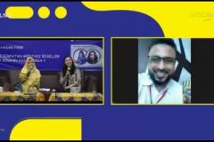 Pelaksanaan Kegiatan Virtual Sales UMKM Binaan Jasamarga pada hari Selasa, 15-12-2020 di Aula Universitas Nasional
