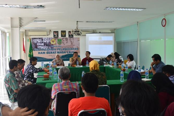 Unas & Komnas HAM adakan Diskusi tentang HAM di UNAS (4)