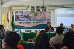 Unas & Komnas HAM adakan Diskusi tentang HAM di UNAS (2)