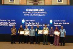 Acara penghargaan oleh Dirjen Jendral Pajak