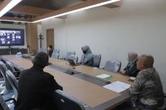 Saat acara penandatanganan Memorandum of Understanding (MoU) UNAS dengan Universitas Esa Unggul (UEU) berlangsung pada Kamis (29/4).