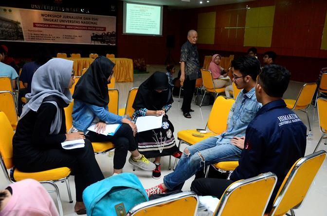 UNAS_Pelatihan Jurnalistik 13