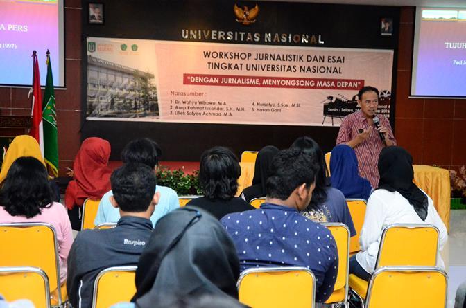 UNAS_Pelatihan Jurnalistik 2