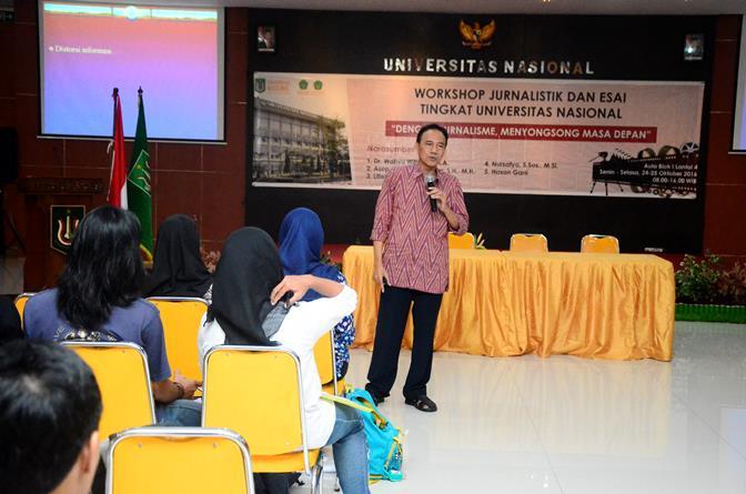UNAS_Pelatihan Jurnalistik 4