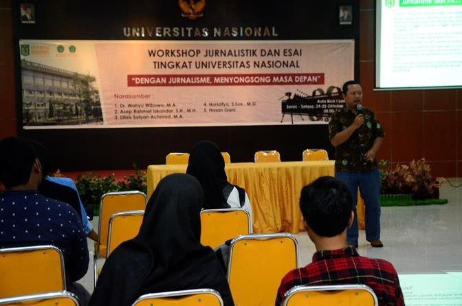 UNAS_Pelatihan Jurnalistik 9