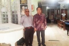Rektor CUFS KOREA dan Rektor Unas