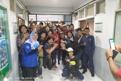 Foto bersama mahasiswa