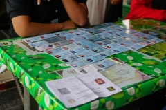 Identitas para mahasiswa yang melakukan tes urine