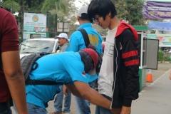 Pemeriksaan mahasiswa Universitas Nasional oleh BNN