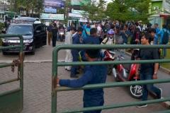 Razia narkoba di kampus Universitas Nasional