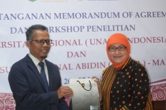 Universitas Nasional (UNAS) jajaki kerjasama dengan Universiti Sultan Zainal Abidin (UniSZA) Malaysia (11)