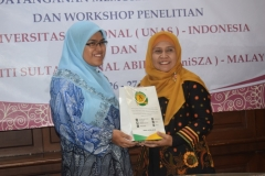 Universitas Nasional (UNAS) jajaki kerjasama dengan Universiti Sultan Zainal Abidin (UniSZA) Malaysia (8)