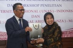 Universitas Nasional (UNAS) jajaki kerjasama dengan Universiti Sultan Zainal Abidin (UniSZA) Malaysia (9)