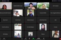 "Diskusi dengan topik ""Urgensi Krisis Iklim dan Peran Muslim"" yang diselenggarakan oleh @ecodeen.id dengan salah satu narasumber Ketua PPI Unas Dr. Fachruddin M. Mangunjaya, M.Si., pada hari Minggu, 11 April 2021"