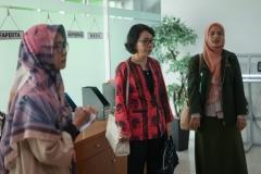 Asesor melakukan crosscheck lapangan ke sentra pelayanan akademik yang ada di UNAS