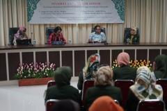 Pembukaan kegiatan visitasi reakreditasi D-IV Kebidanan yang dihadiri Wakil Rektor Bidang Administrasi Umum, Keuangan, dan SDM Prof. Dr. Drs. Eko Sugiyanto, M.Si,  pada Selasa (23/7) di ruang seminar lantai tiga Menara UNAS