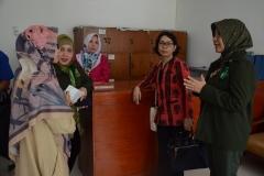 Asesor melakukan kunjungan ke unit-unit dan sarana pendukung yang dimiliki prodi D-IV kebidanan