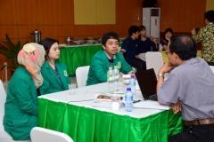 Proses Wawancara dengan mahasiswa oleh asesor