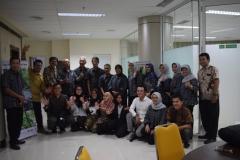 dosen dan mahasiswa dilingkup magister biologi