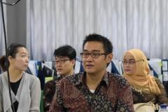 ketua program studi bahasa korea, Fahdi Sachiya, S.S., M.A dalam akreditasi