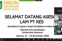 Saat presentasi profil Unit Pengelola Program Studi (UPPS) dan Prodi