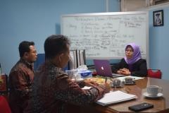 Visitasi Reakreditasi Prodi Sastra Indonesia 1