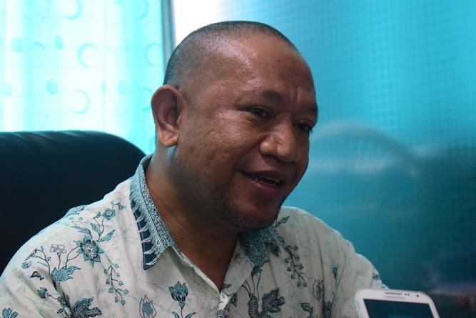 Kepala Biromawa Kamaruddin Salim, S.Sos., M.Si.  saat menjelaskan tentang Bidikmisi (3)